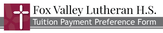 Payment Preference Form